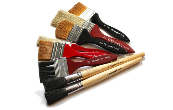 Dynasty Large Size Gesso and Wash Brushes