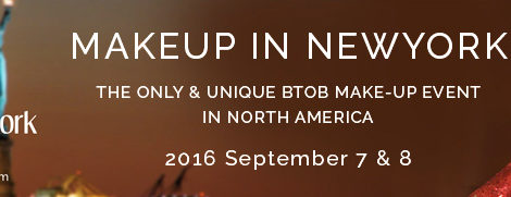 Make Up In New York September 7th & 8th 2016