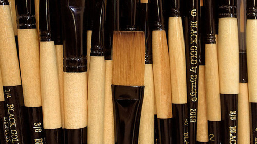 Dynasty Black Gold Brushes