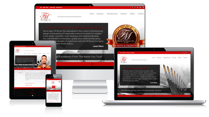 Welcome to the New FM Brush Website!