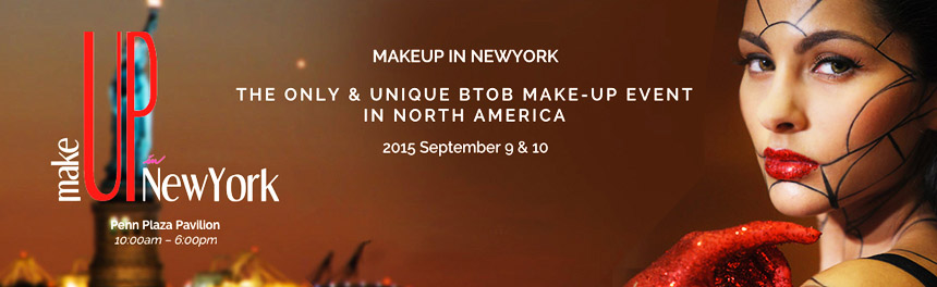 MakeUp In New York 2015, September 9th & 10th